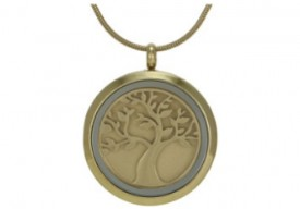 Cremation Round Pendant Jewelry MC